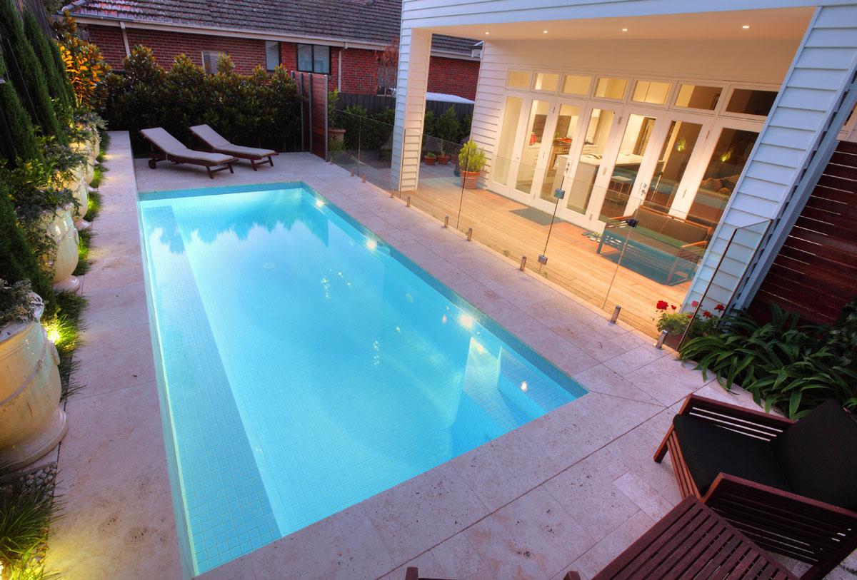 Kiama pools melbourne 39 s best custom pool builder ellington project for Small swimming pools melbourne