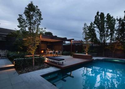 White - Kiama Pools Backyard Pool Project
