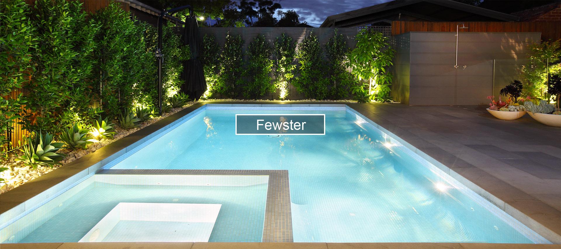 Fewster - Kiama Pools Swimming Pool Project